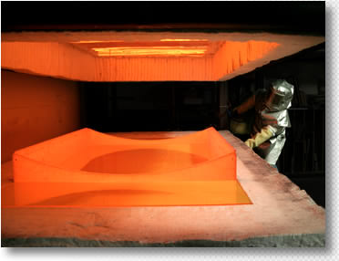 Custom Glass Molding Precision Glass Molding Manufacturer