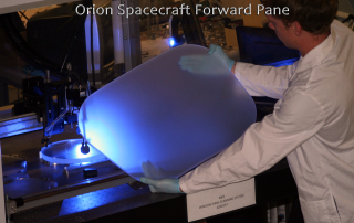 Orion Spacecraft Forward Pane